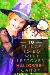 10 things to do with leftover Halloween candy