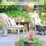 Patio Pavers or Stamped Concrete? A Backyard Makeover