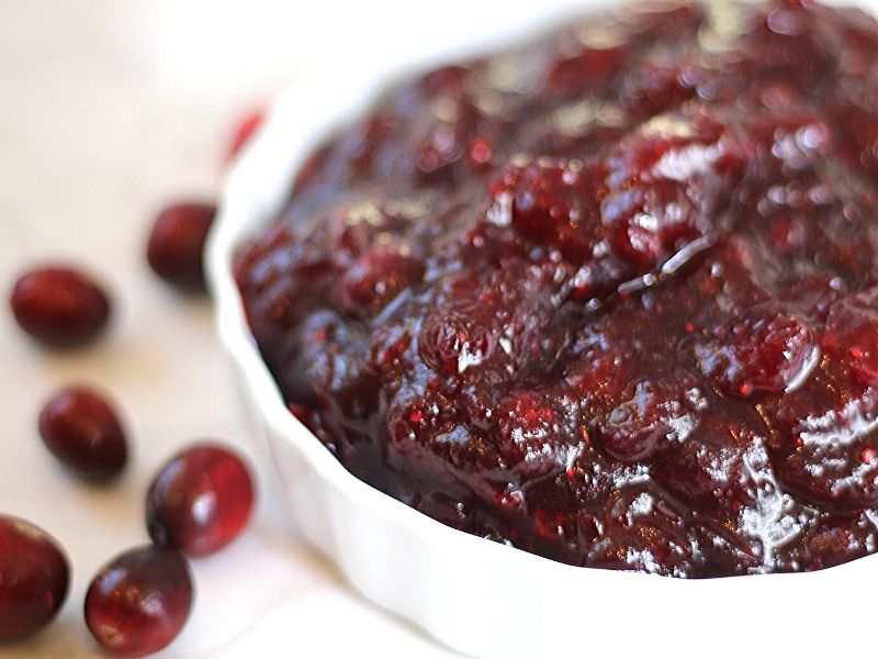 The easiest and tastiest 4-ingredient Cranberry Sauce Recipe! The perfect side dish for your Thanksgiving Dinner.