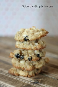 baked Oatmeal Cookies from a Jar