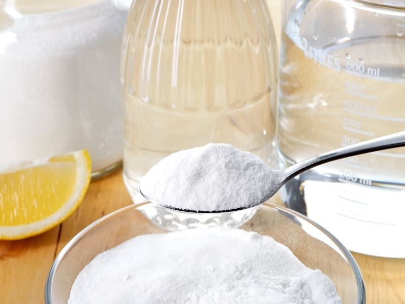 Ingredients to make an all-natural cleaner