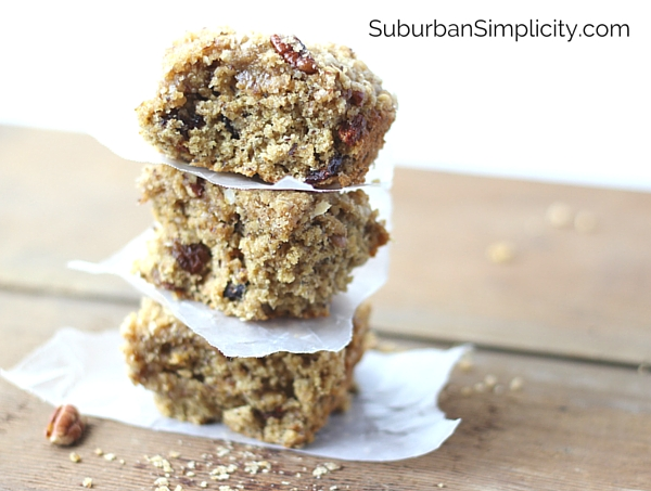 Easy Cherry Oatmeal Bars