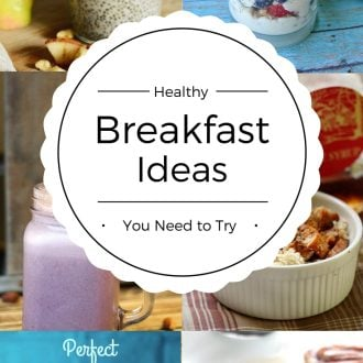 Healthy Breakfast Ideas You Need to Try! These recipes will inspire you to eat healthy all day. Plus, they're easy to make and some you can eat on the go!