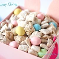 Bunny Chow in a cute pink bunny box.