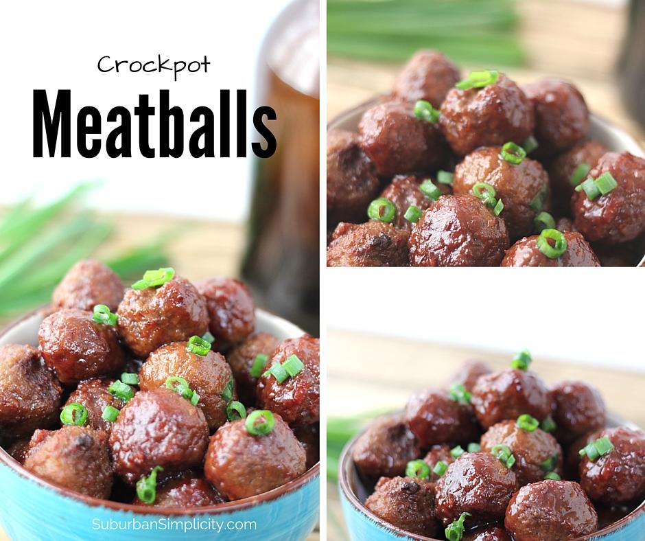 Crockpot Grape Jelly Meatballs in a bowl.