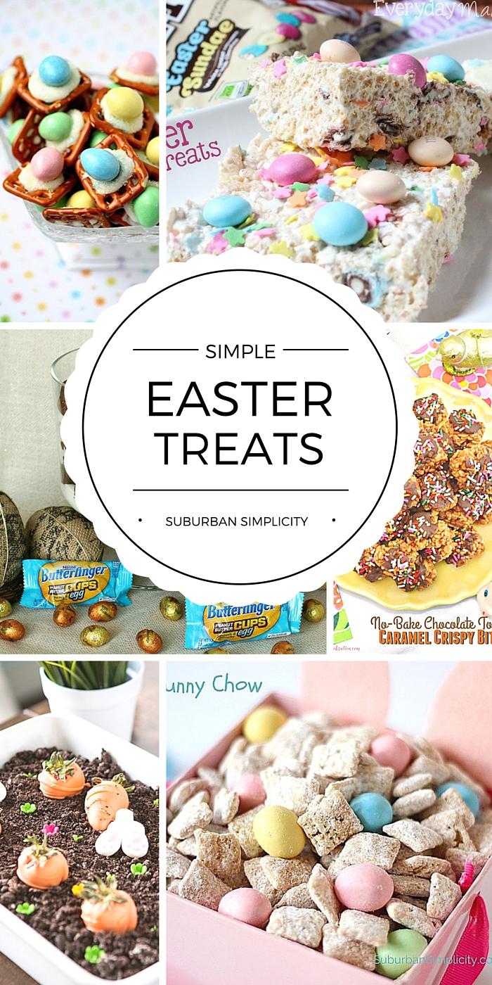Simple easter treats cute easter treats recipes for Quick and easy easter treats recipes