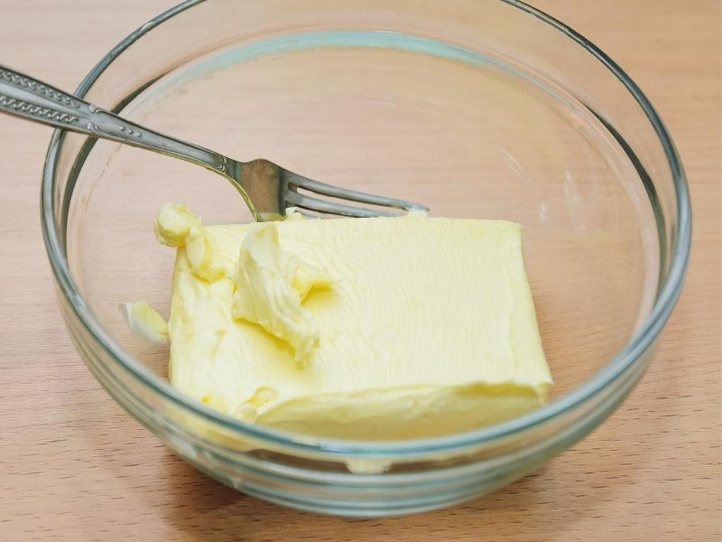Softened butter