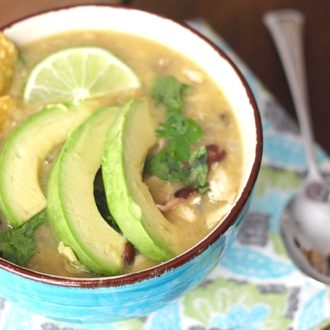 Easy and Delicious Chicken Enchilada Verde Soup