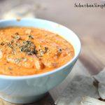 Roasted Red Pepper and Artichoke Dip recipe