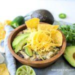 Easy Chicken Green Enchilada Soup