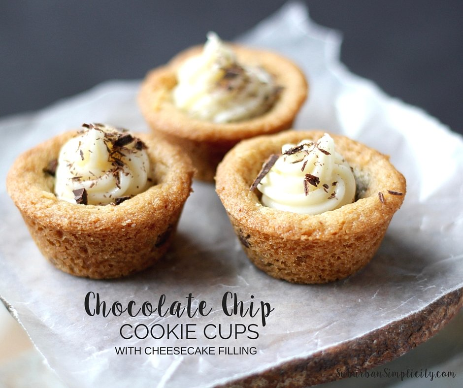 Chocolate Chip Cookie Cups - FB-2