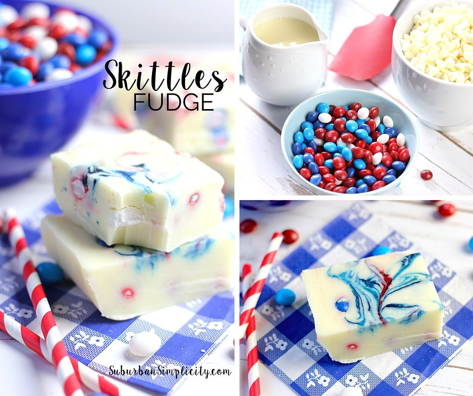 How to make Skittles Fudge