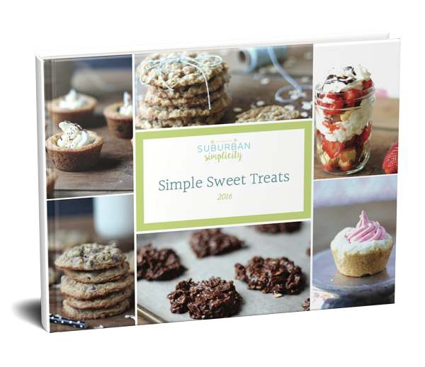 FREE Sweet Treat Cookbook!