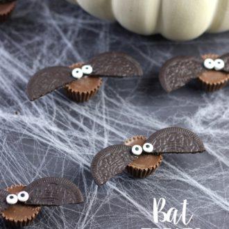 Cute Bat Treats for Halloween.