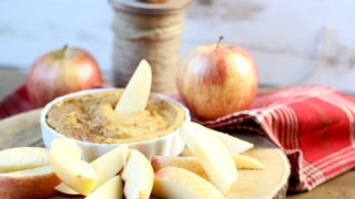 Skinny Pumpkin Dip with Cream Cheese