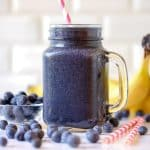 Metabolism Boosting Blueberry Smoothie
