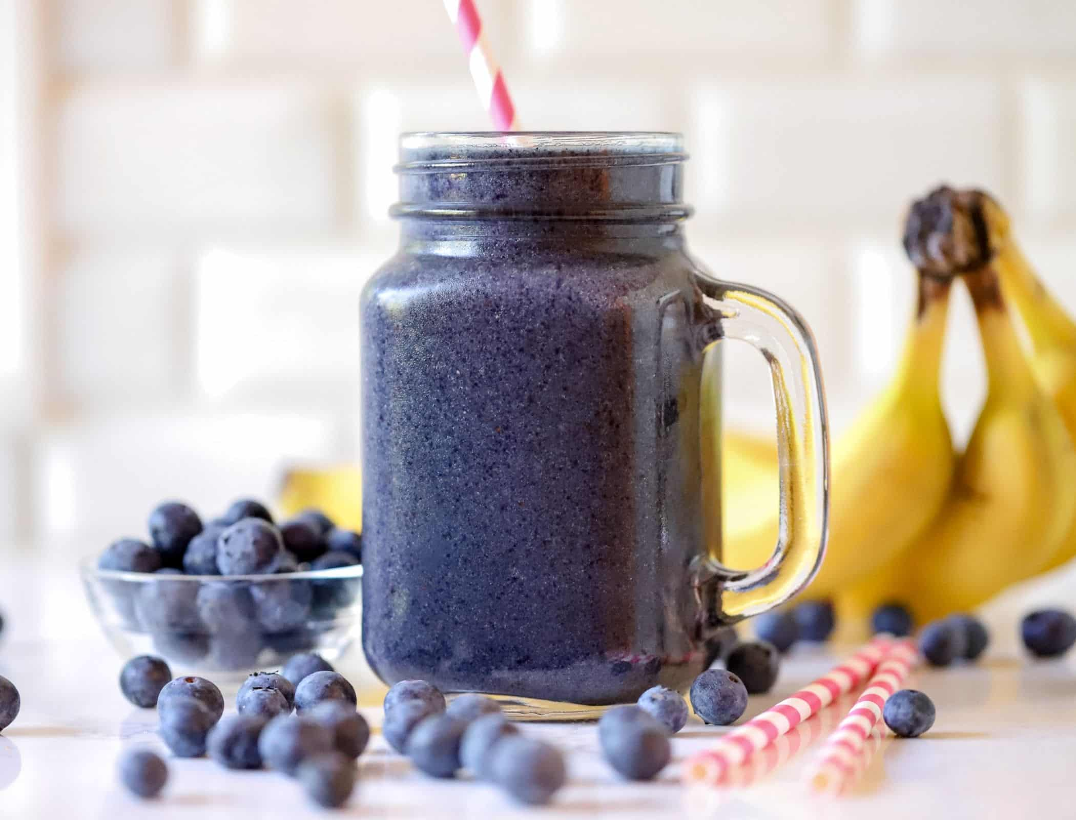 Metabolism Boosting Blueberry Smoothie | Healthy Smoothie Recipe