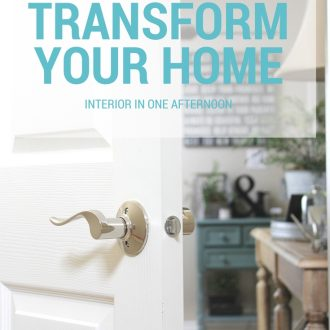 Want to Transform the Interior of Your Home in one afternoon? This one simple change can transform a room and brings the possibilities of your home to life.