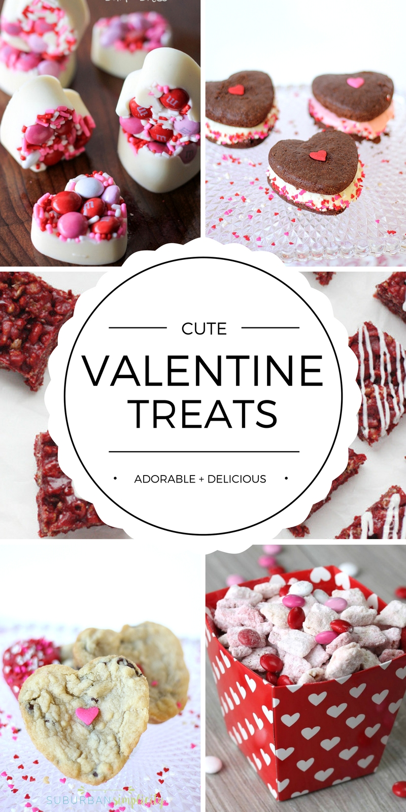 Cute Valentine's Day Treat Ideas | Valentine's Day Desserts