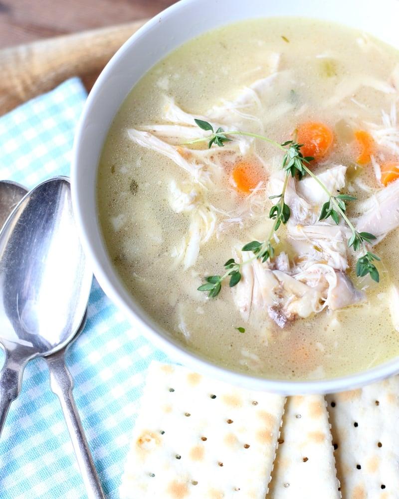 Best Homemade Chicken Soup Ever Chicken Soup From Scratch