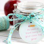 Saltine Toffee Teacher Gift Idea