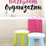 Solutions for Bathroom Organization