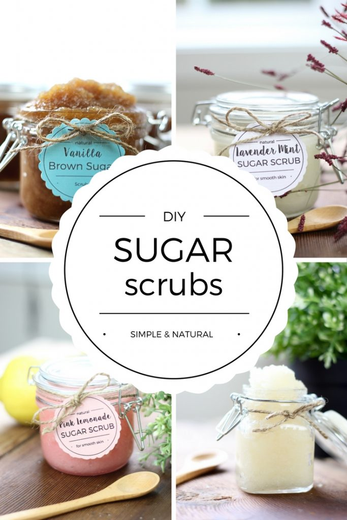 DIY Sugar Scrubs are easy and inexpensive to make. Plus, they're the perfect gift idea! So, banish dry, rough skin with this these DIY Sugar Scrub Recipes today!   DIY Natural Beauty Products