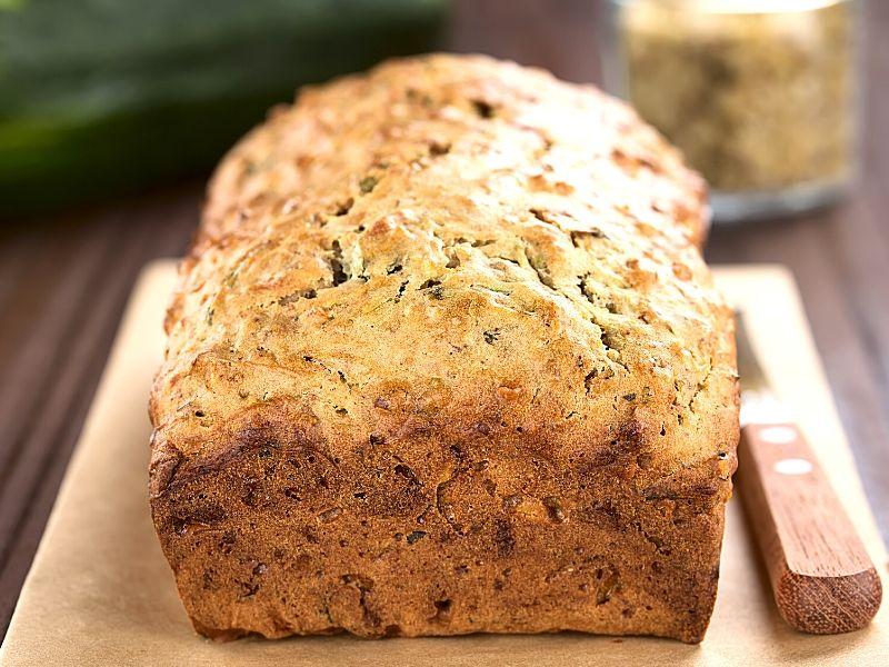 Baked zucchini Bread