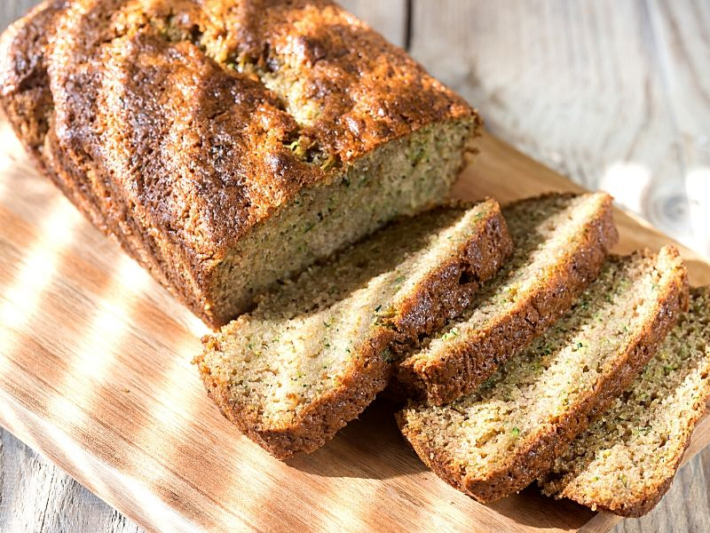 Looking for the Best Ever Zucchini Bread Recipe? You have to try this one! Moist and delicious every time. Plus, it has an irresistible cinnamon sugar topping!