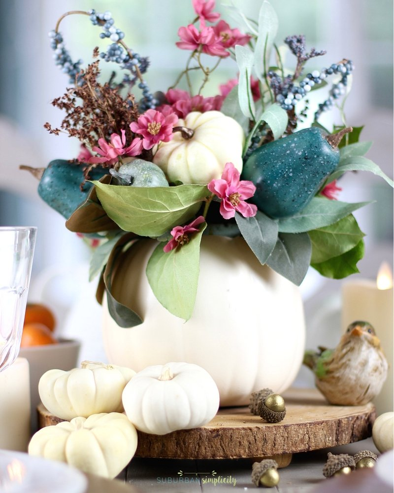 Easy thanksgiving table decorations diy thanksgiving Thanksgiving table decorations homemade