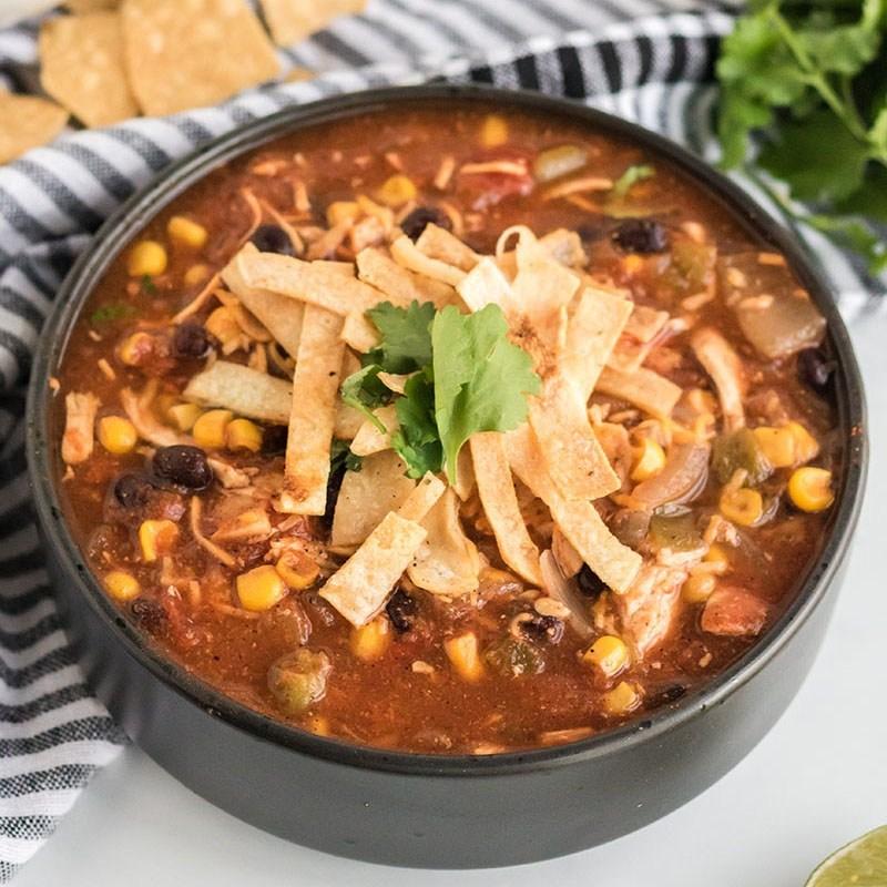 A bowl of crock pot stew