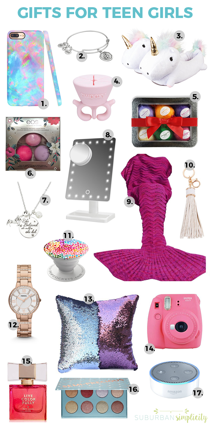 17 Best Gift Ideas for Teen Girls | Gift Guide for Teenage ...