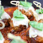 Delicious Meatball Parmesan Bites