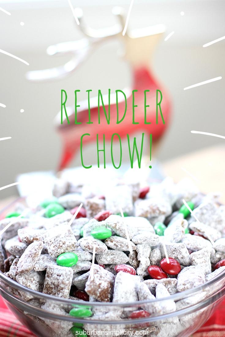 Reindeer Chow Recipe Christmas Muddy Buddies