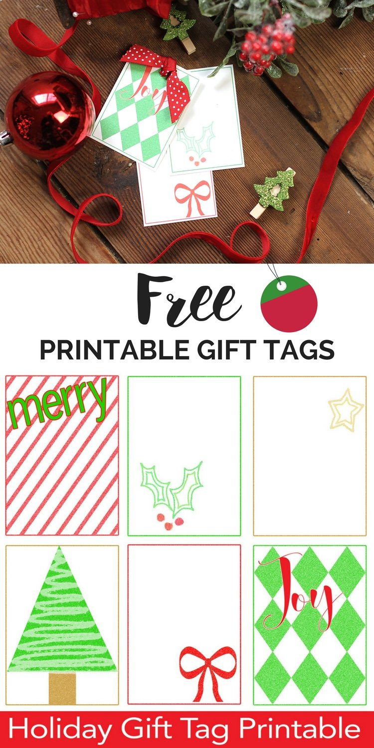 photograph regarding Free Printable Christmas Name Tags named Free of charge Printable Xmas Reward Tags Xmas Reward Tag Template
