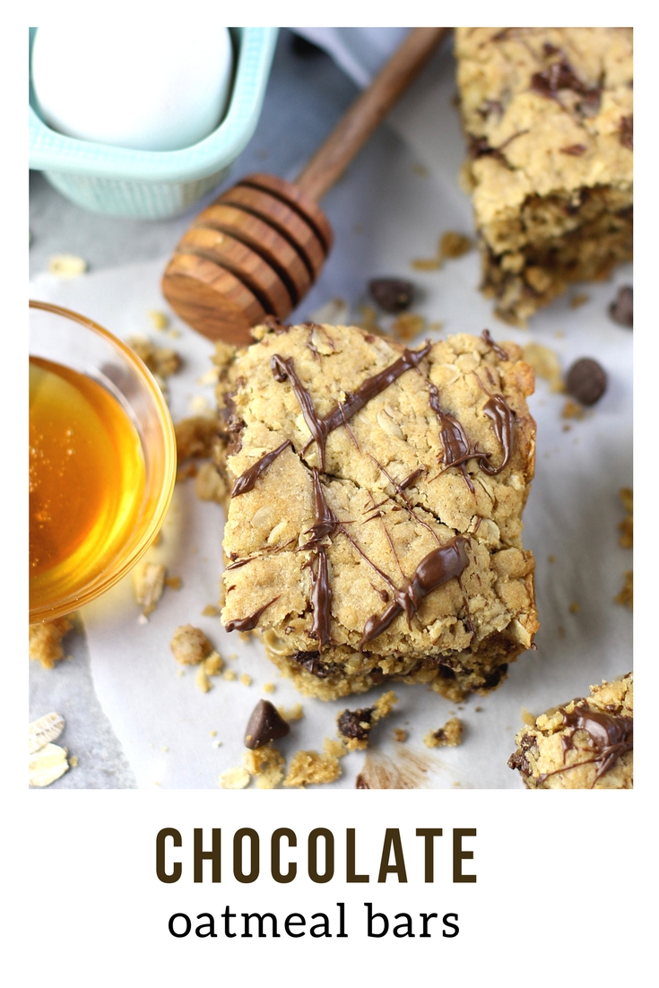 You need to try this delicious Easy Chocolate Oatmeal Bars recipe your whole family will love! With no refined sugar, they're a wholesome and delicious baking idea that's amazing for breakfast or snack time! #suburbansimplicity #oatmealbars #baking #recipes #healthy