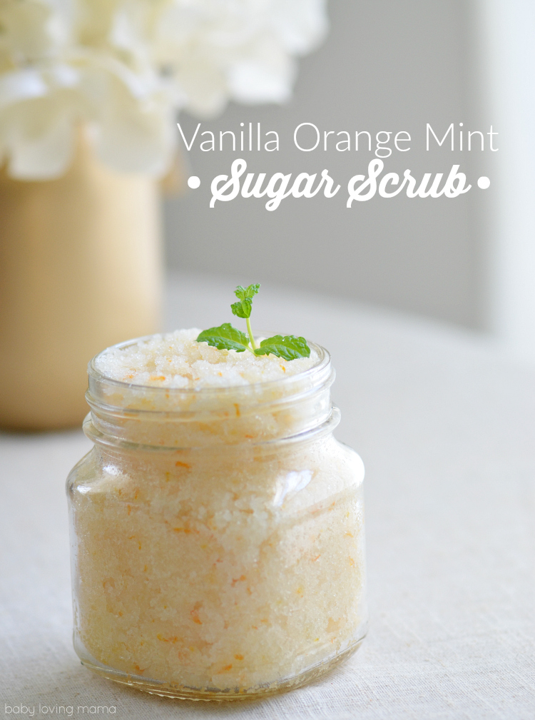 Vanilla Orange Mint Sugar Scrub