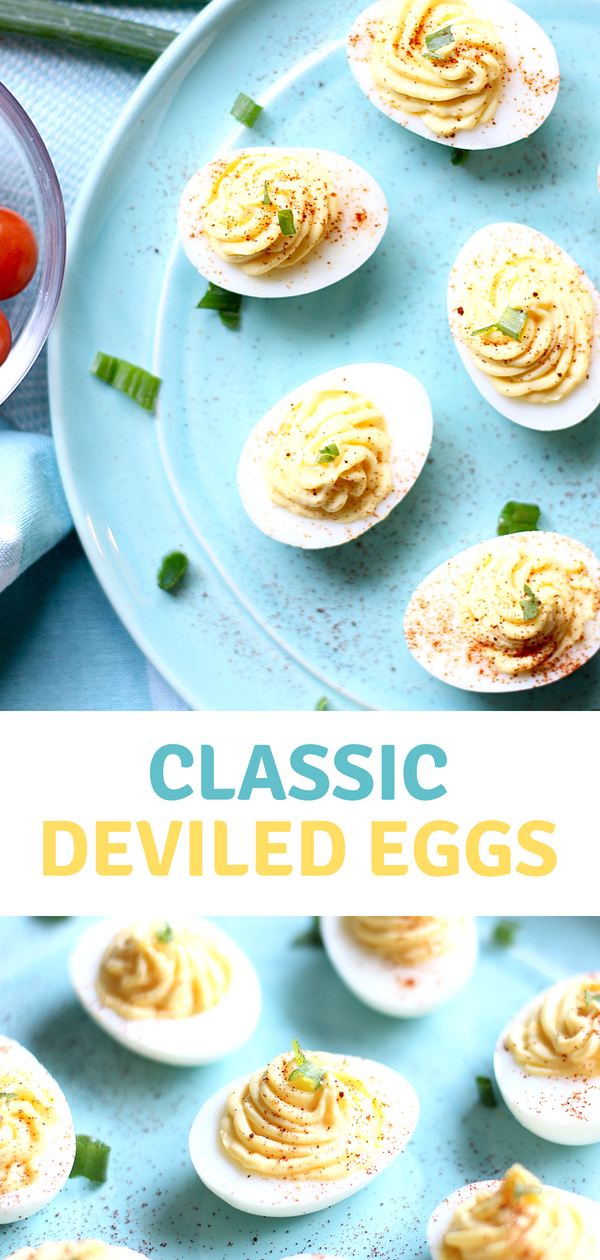 Get ready to make theBest Deviled Eggs! This classic deviled egg recipe is so darn delicious, they won't last long at your next picnic or potluck!
