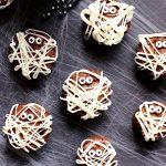 Mummy Brownies for Halloween