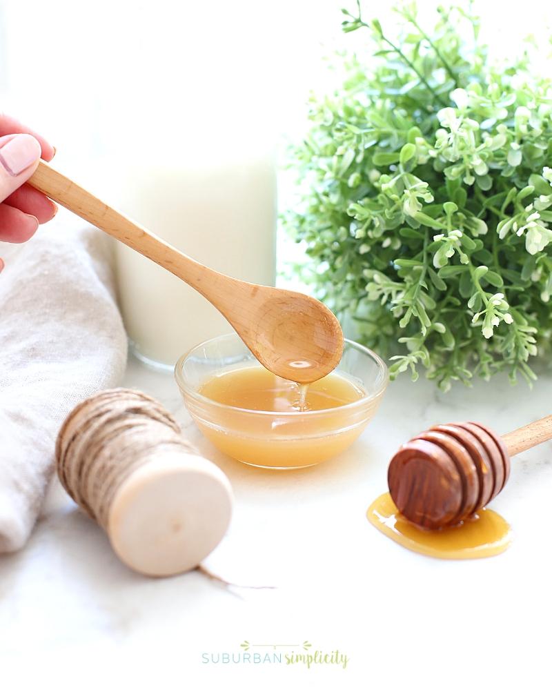 DIY Milk and Honey Sugar Scrub   Suburban Simplicity