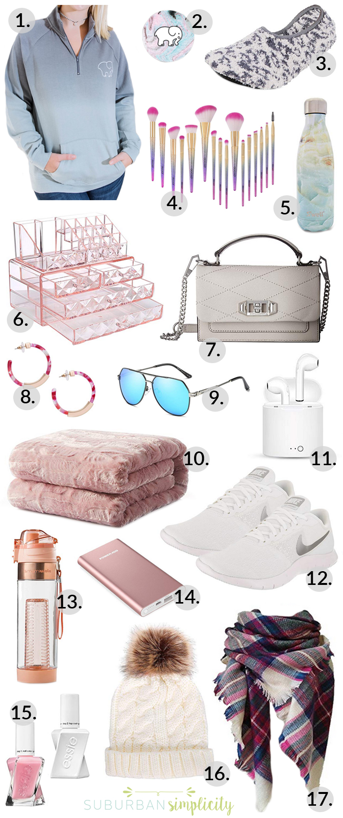 Popular Christmas Gifts For Teenage Girl 2018.Christmas Gifts For Teen Girls Suburban Simplicity