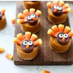 Pumpkin Pie Turkeys for Thanksgiving.