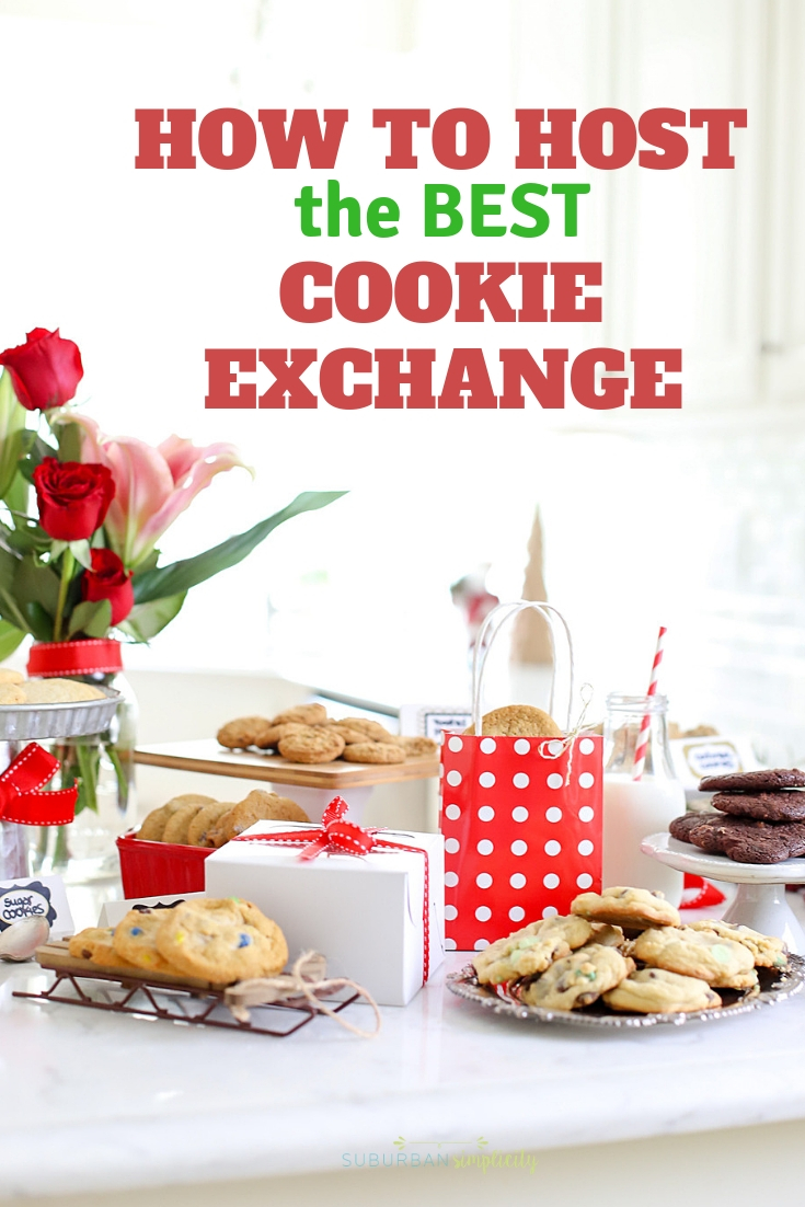 Plan the perfect holiday cookie exchange with these tips! From the invites to the refreshments, you'll Host the Best Cookie Exchange in the neighborhood!