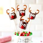 Chocolate Covered Marshmallow Reindeer