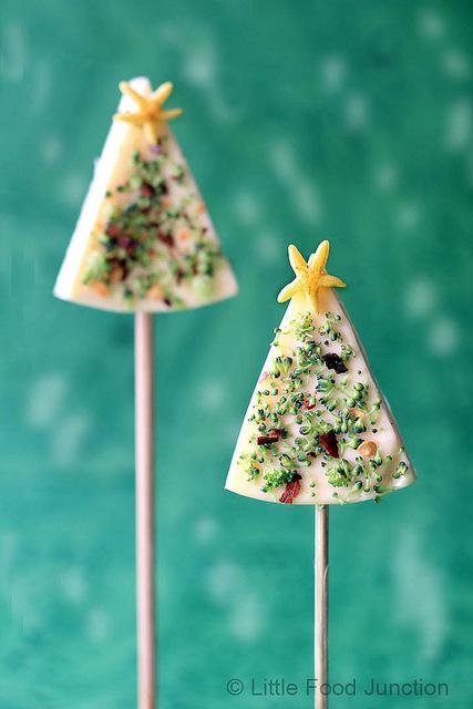 Christmas Cheese Wedge trees