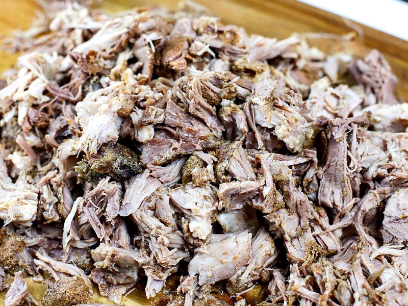 Shredded Crock Pot Pulled Pork