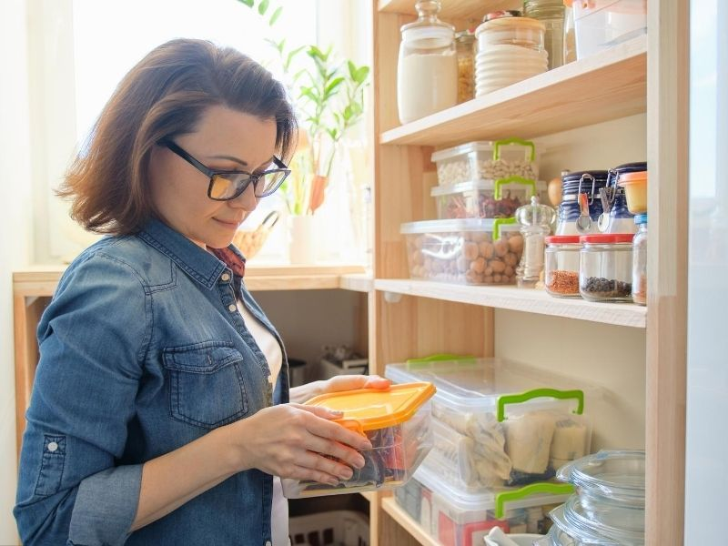 Tip for stocking your pantry for back to school