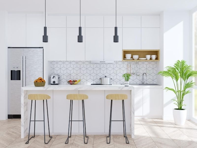 Ideas for how to organize your kitchen for back to school