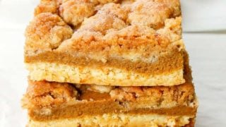 Pumpkin Pie Bars with Cake Mix