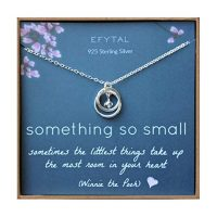 Sterling Silver Necklace for Mother and Baby